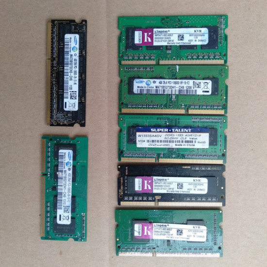 4G DDR3 Laptop Pulled Used Memory