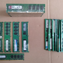 2G DDR2 PC Pulled Used RAM Memory