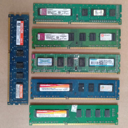 2G DDR3 PC Pulled Used RAM Memory