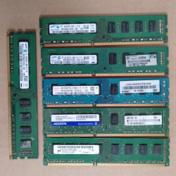 4G DDR3 PC Pulled Used RAM Memory