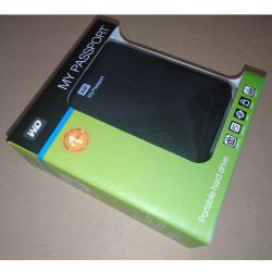 West Digital PassPort HDD Box
